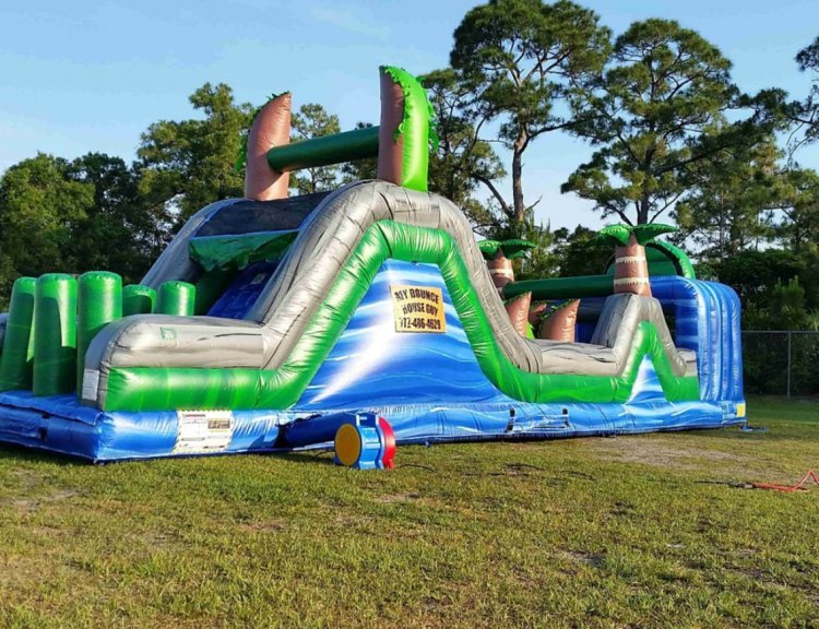 Blue Crush Obstacle (Wet or Dry)