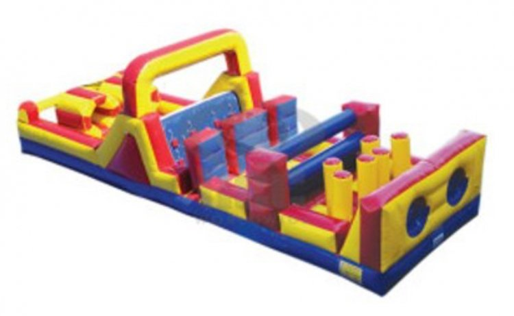 40 Ft Dual Lane Obstacle Course