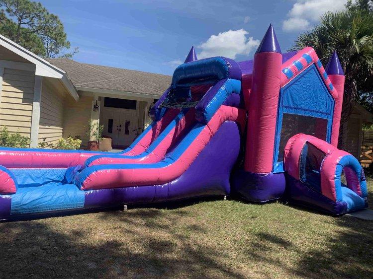 Double Slide Queen Castle Combo (Wet or Dry)